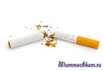 Курение при кормлении грудью
