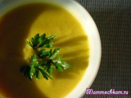 Суп пюре из цветной капусты для детей от 1 до 1,5 лет