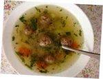 Рыбный суп с фрикадельками для детей от 1 до 1,5 лет